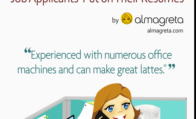 Top 10 Funniest Things Job Seekers Put on their Resumes [INFOGRAPHIC ...