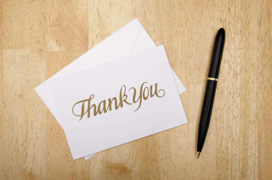 The Thank You Letter: Do's and Do Not's